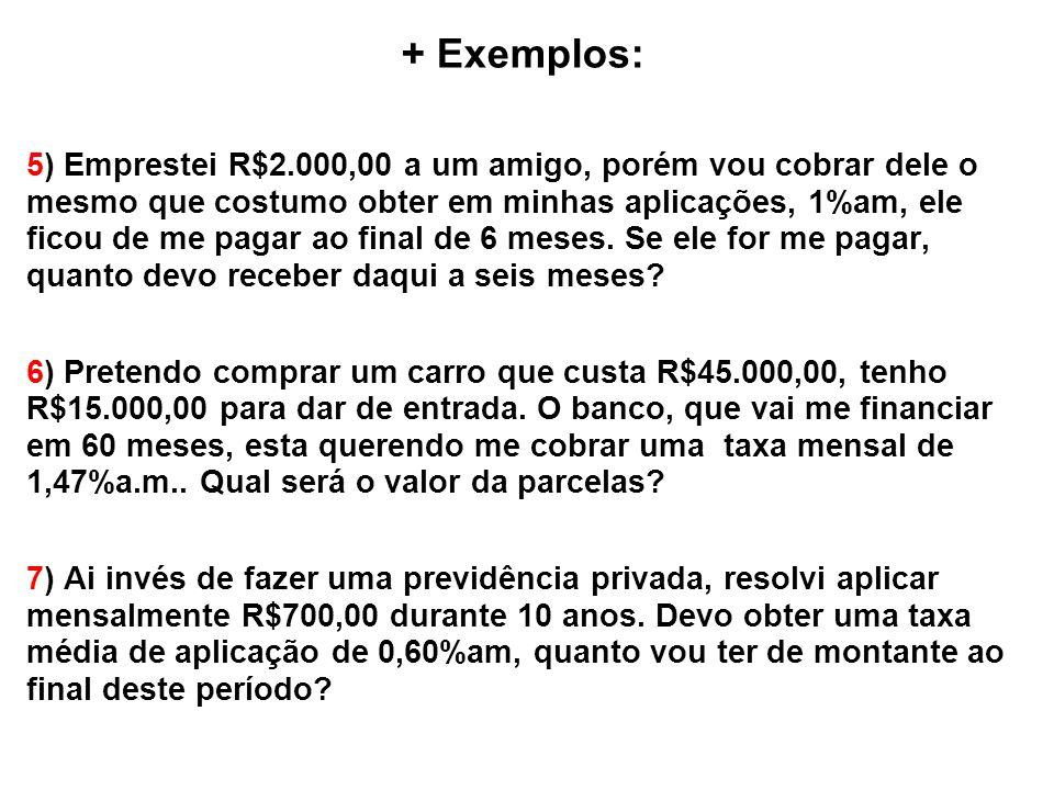 + Exemplos: