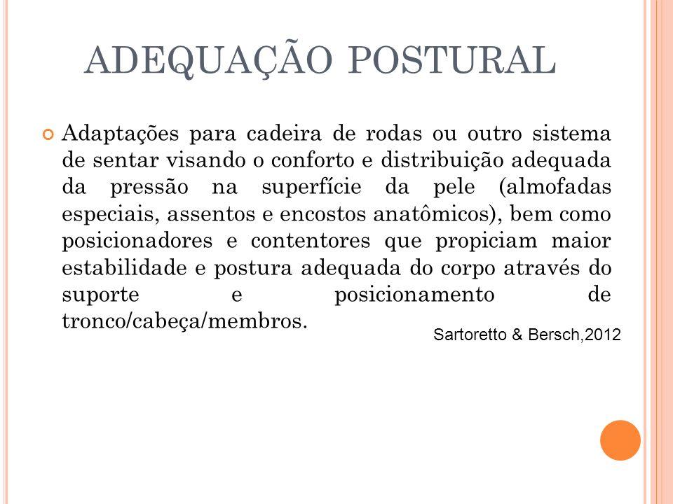 ADEQUAÇÃO POSTURAL