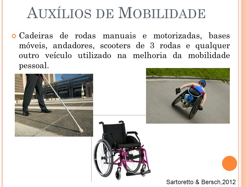 Auxílios de Mobilidade