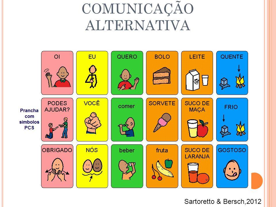 COMUNICAÇÃO ALTERNATIVA