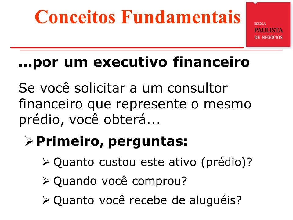 ...por um executivo financeiro