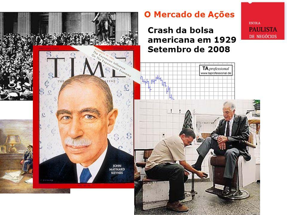 O Mercado de Ações Crash da bolsa americana em 1929 Setembro de 2008