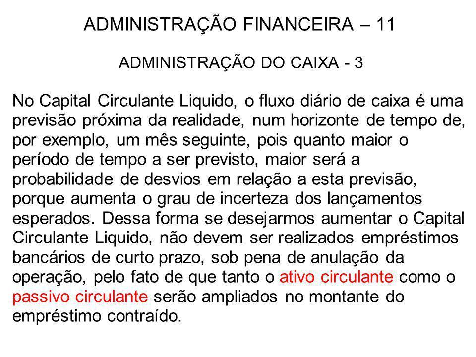 ADMINISTRAÇÃO FINANCEIRA – 11