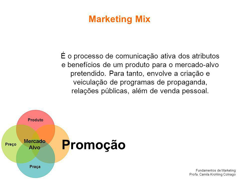 Promoção Marketing Mix