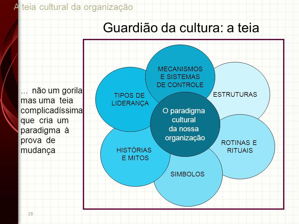 Guardião da cultura: a teia