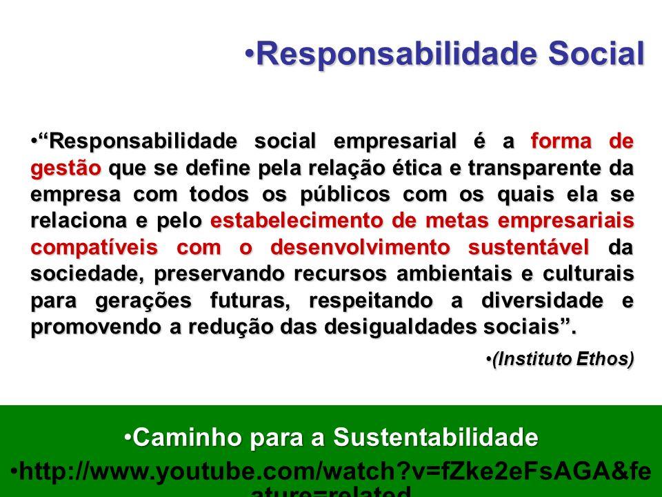 Caminho para a Sustentabilidade