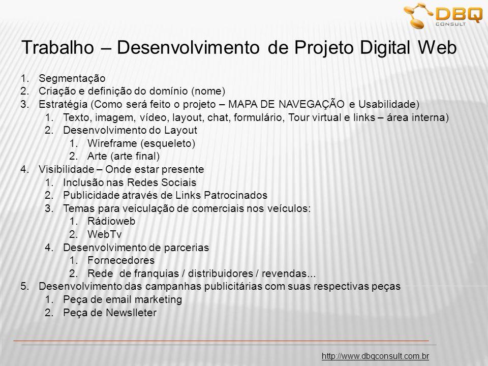 Trabalho – Desenvolvimento de Projeto Digital Web