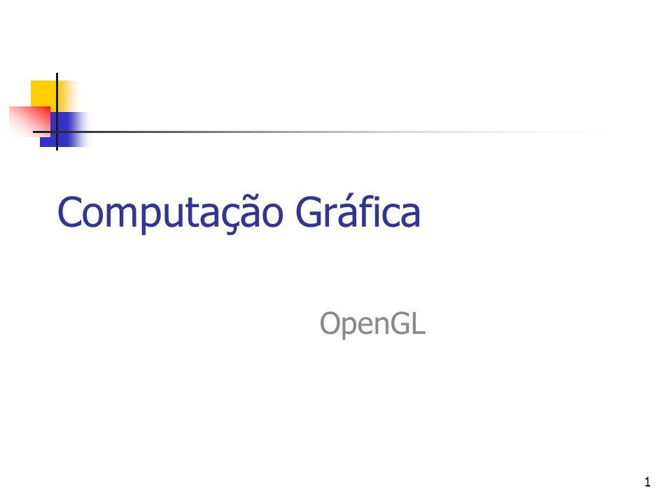 Computação Gráfica OpenGL