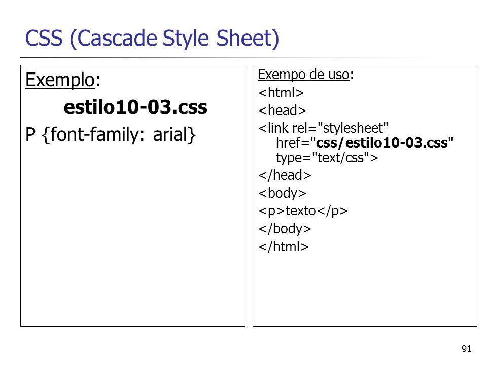 CSS (Cascade Style Sheet)