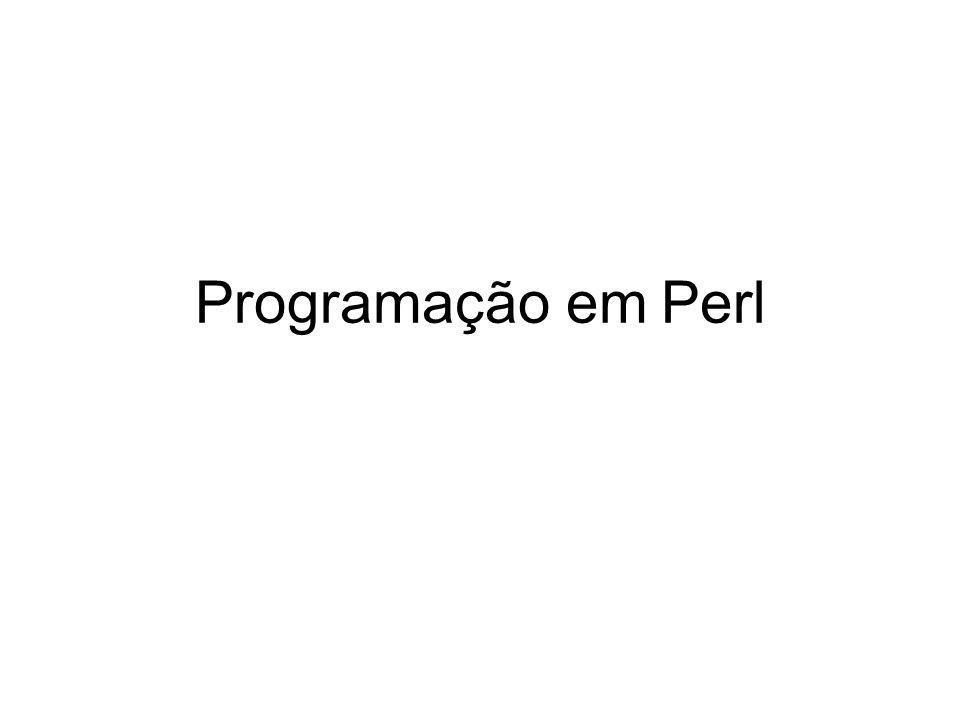Programação em Perl
