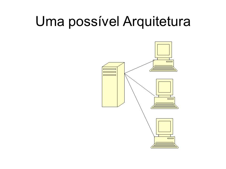 Uma possível Arquitetura