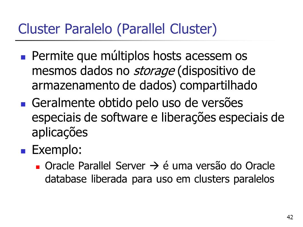 Cluster Paralelo (Parallel Cluster)
