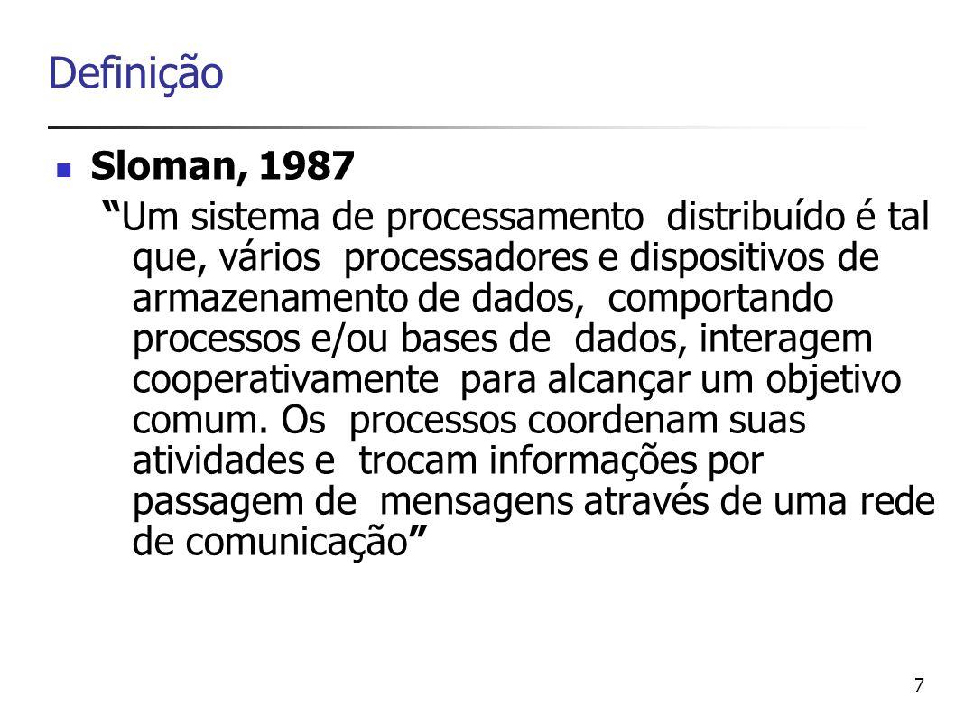 Definição Sloman, 1987.
