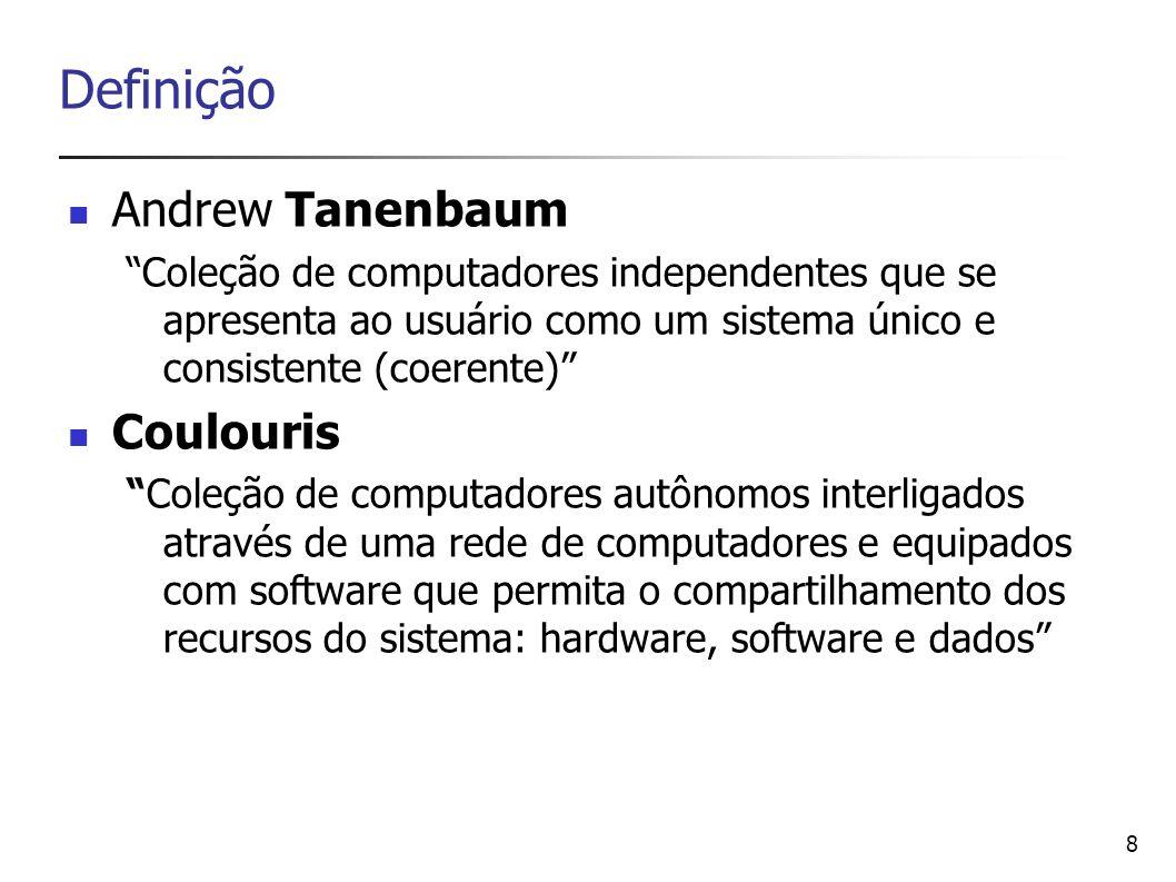 Definição Andrew Tanenbaum Coulouris