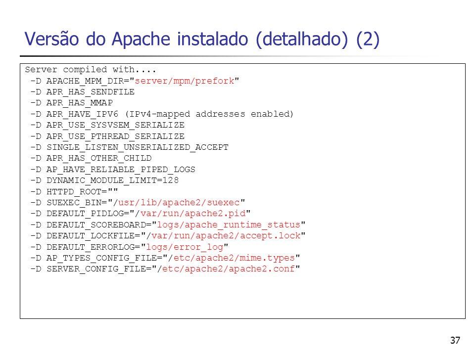 Versão do Apache instalado (detalhado) (2)