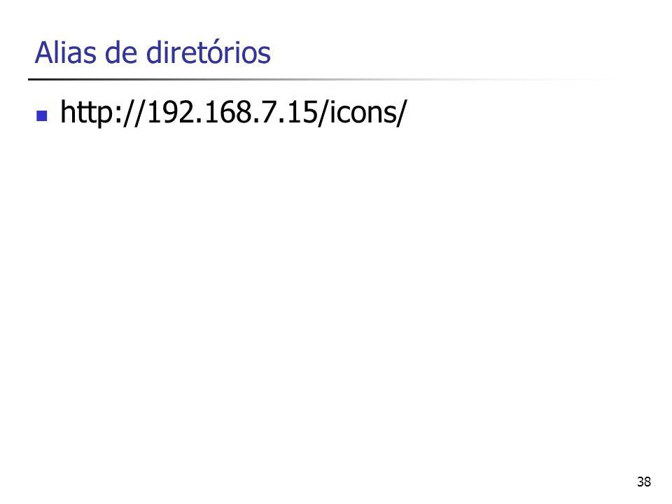 Alias de diretórios http://192.168.7.15/icons/