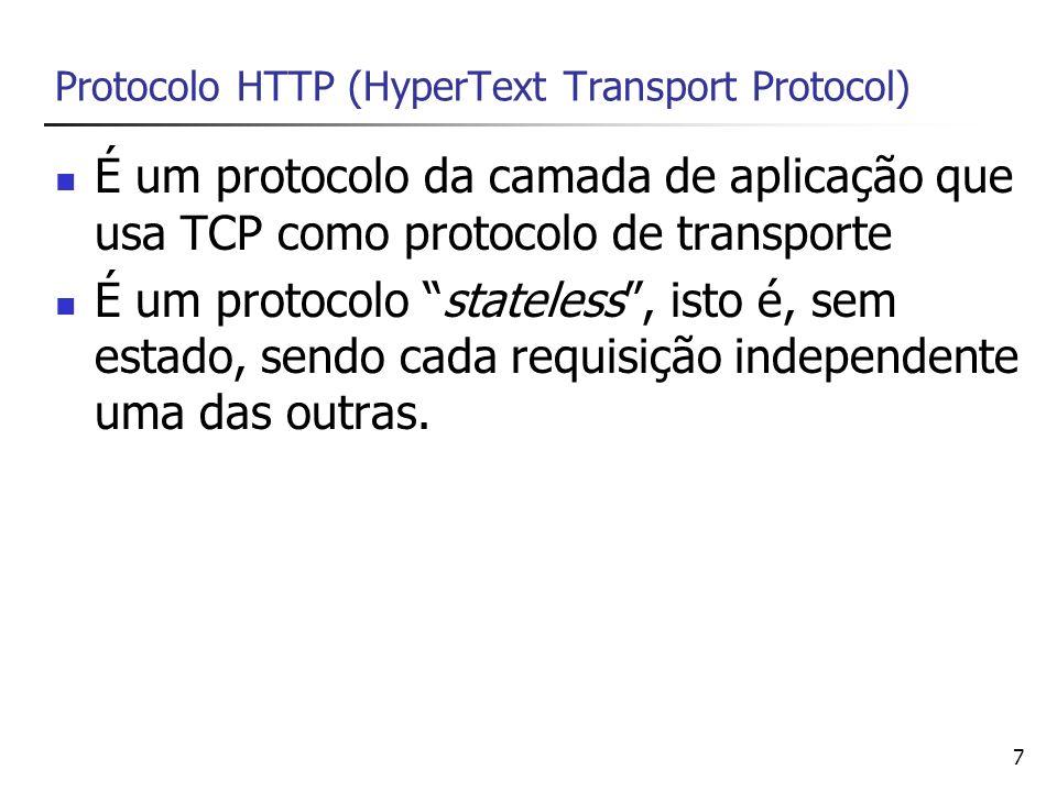 Protocolo HTTP (HyperText Transport Protocol)