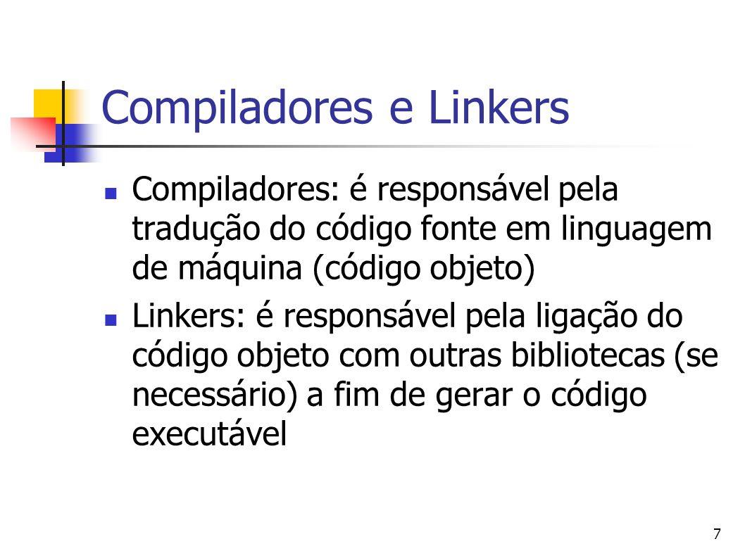 Compiladores e Linkers
