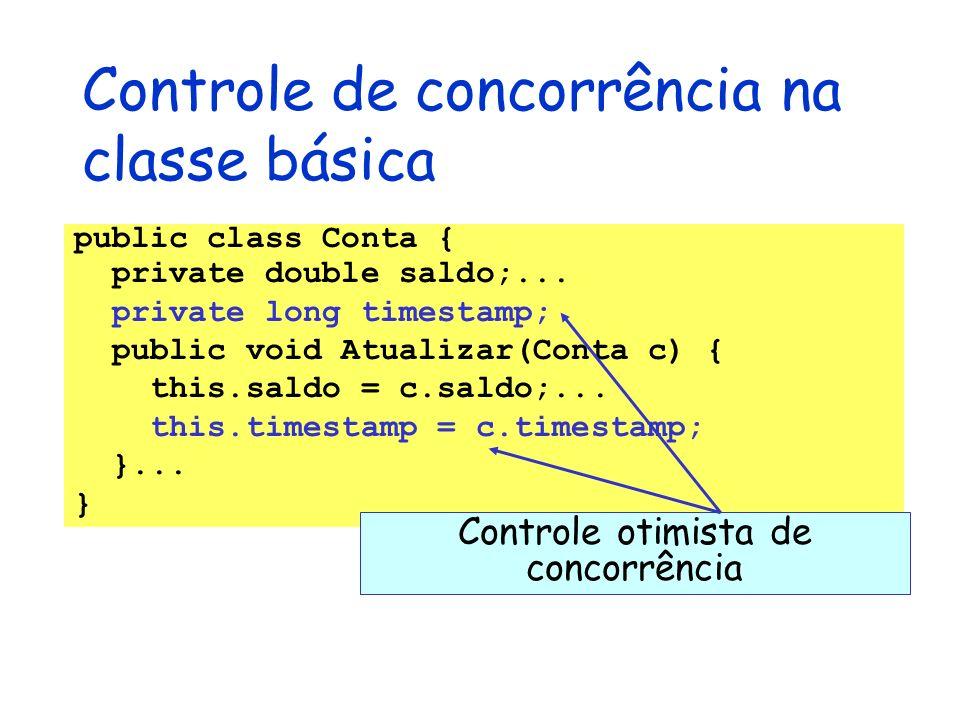 Controle de concorrência na classe básica