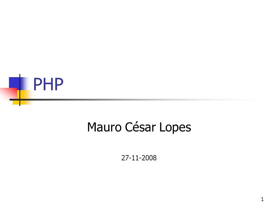 PHP Mauro César Lopes 27-11-2008