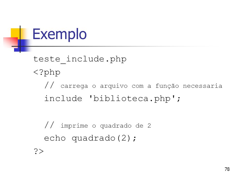 Exemplo teste_include.php < php