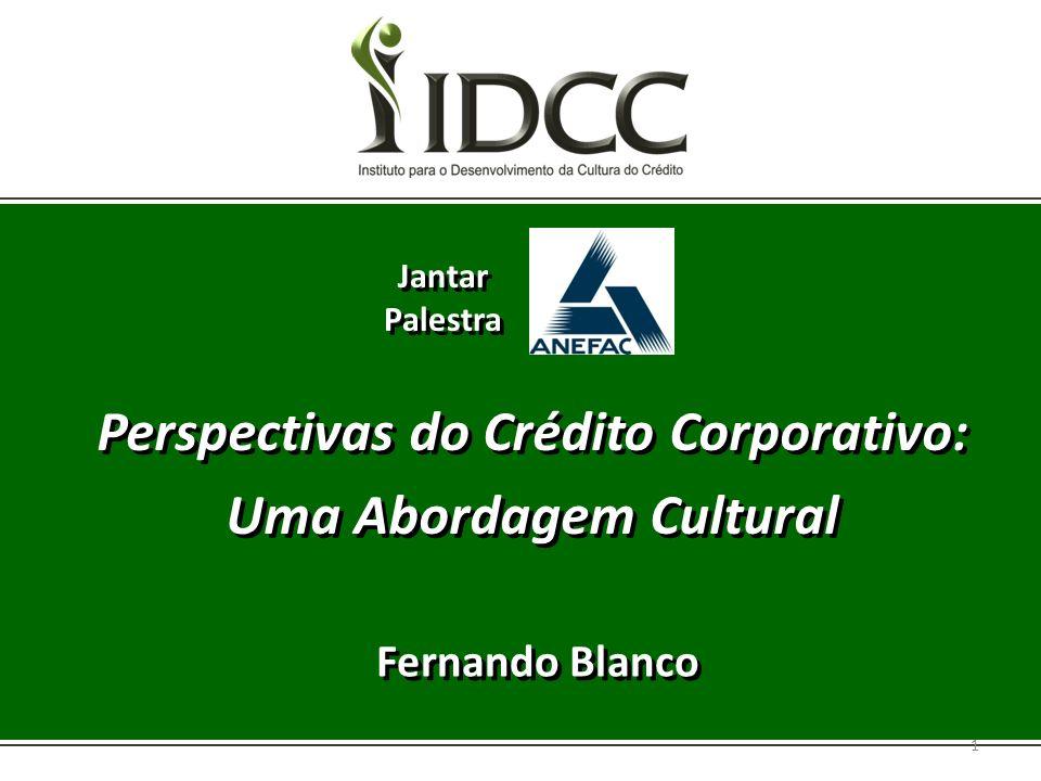 Perspectivas do Crédito Corporativo: Uma Abordagem Cultural