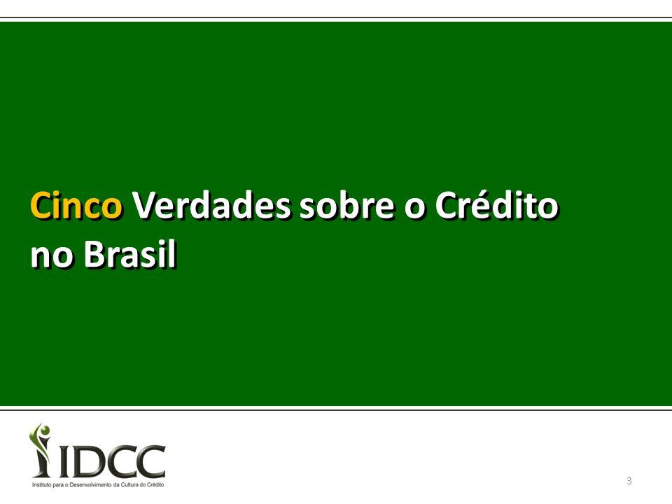 Cinco Verdades sobre o Crédito no Brasil