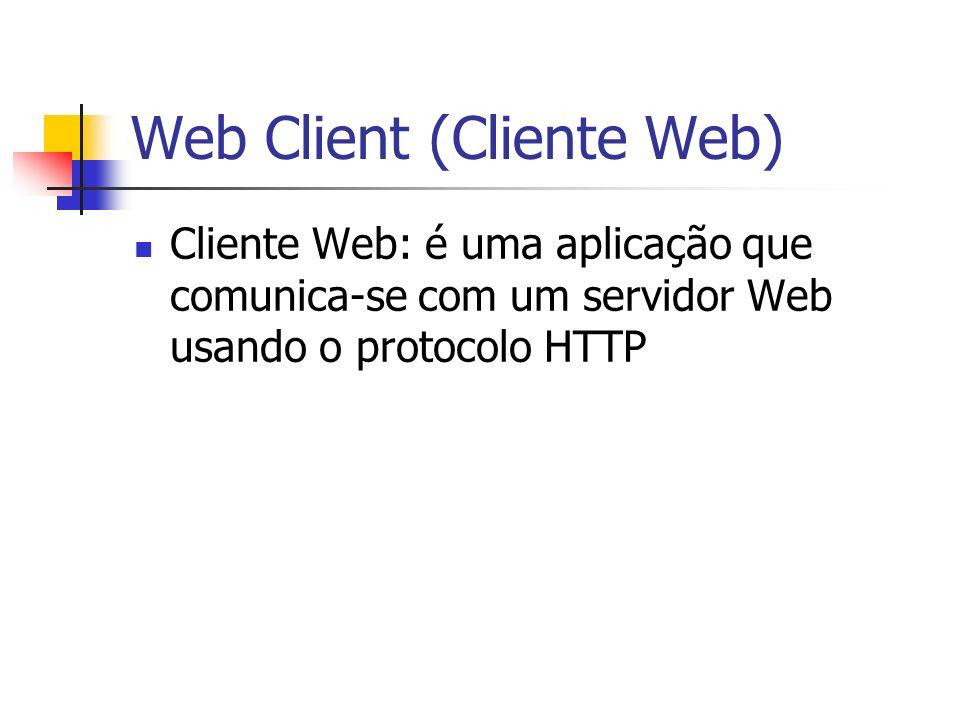 Web Client (Cliente Web)