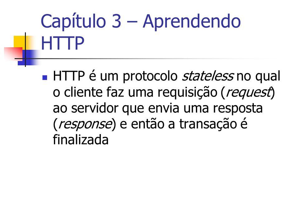 Capítulo 3 – Aprendendo HTTP