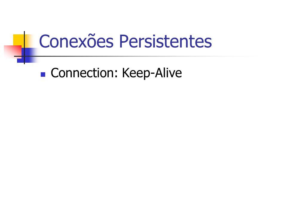Conexões Persistentes