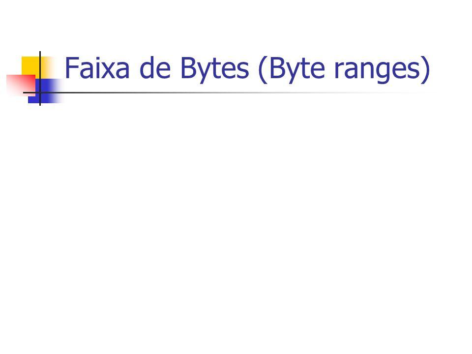 Faixa de Bytes (Byte ranges)