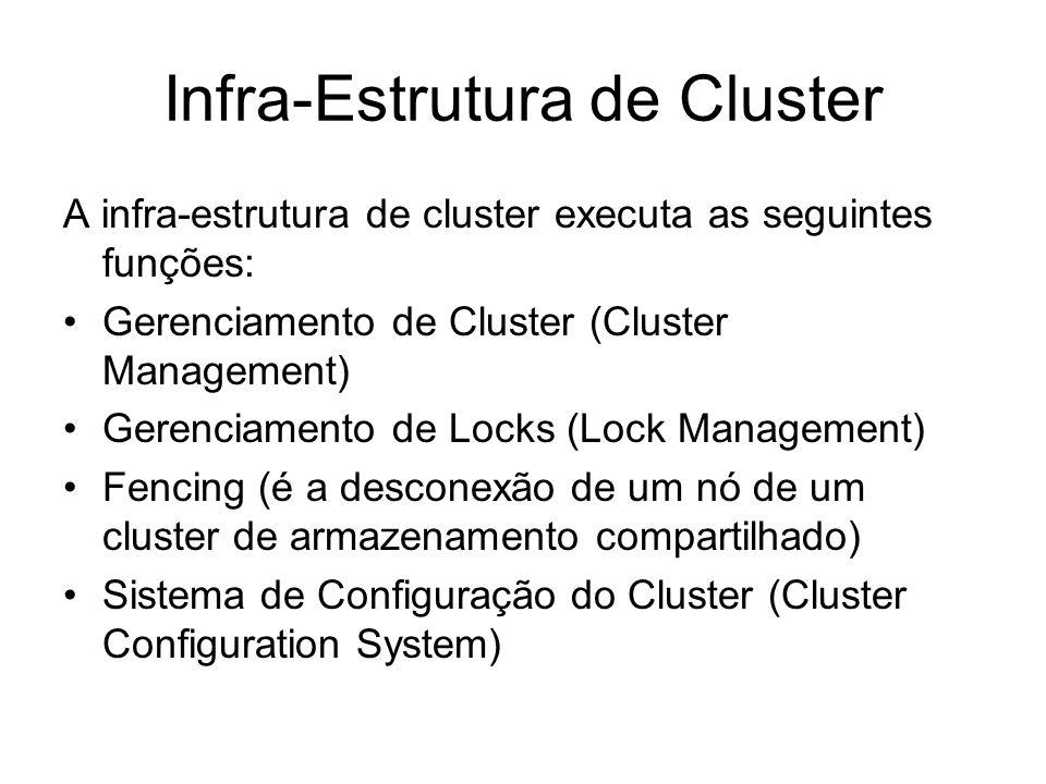 Infra-Estrutura de Cluster
