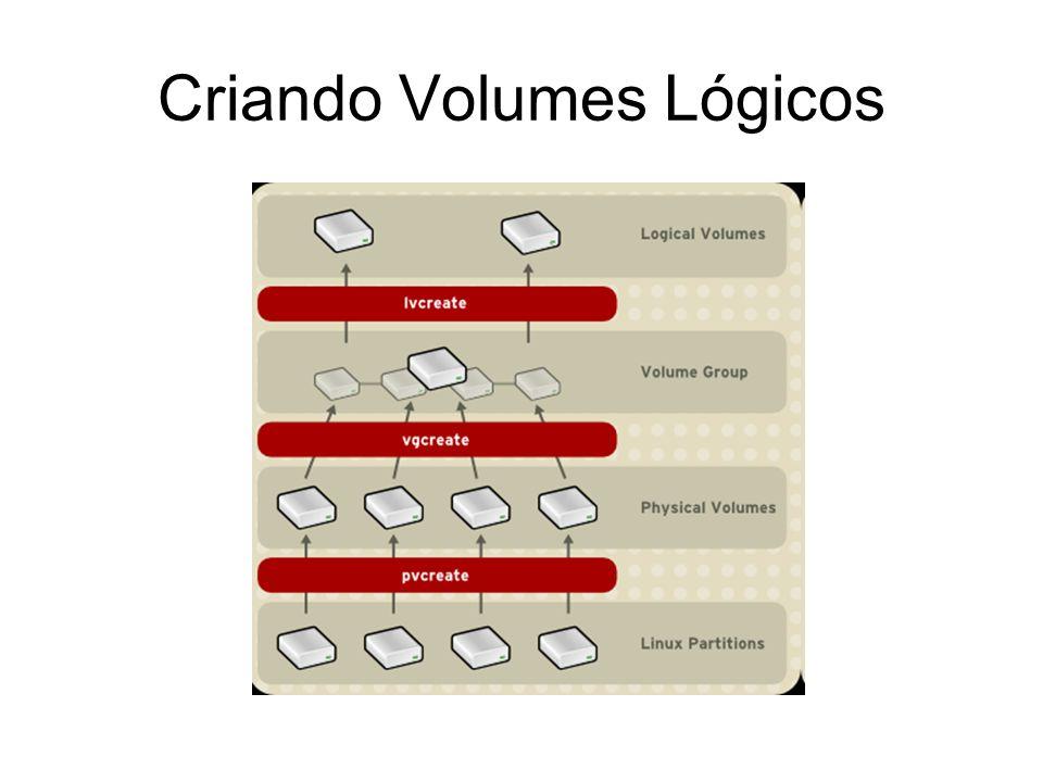 Criando Volumes Lógicos
