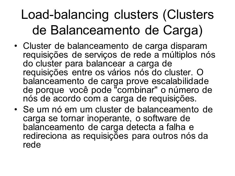 Load-balancing clusters (Clusters de Balanceamento de Carga)