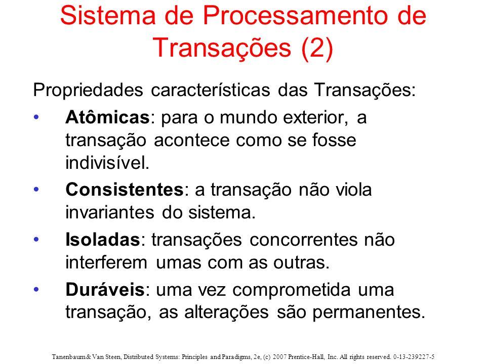 Sistema de Processamento de Transações (2)