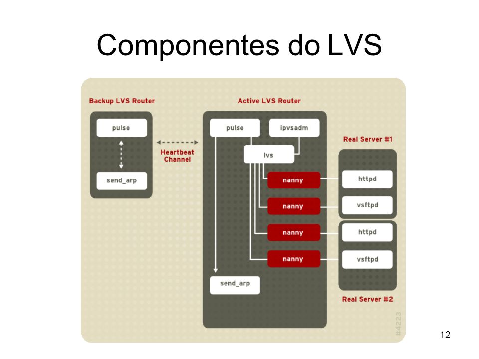Componentes do LVS