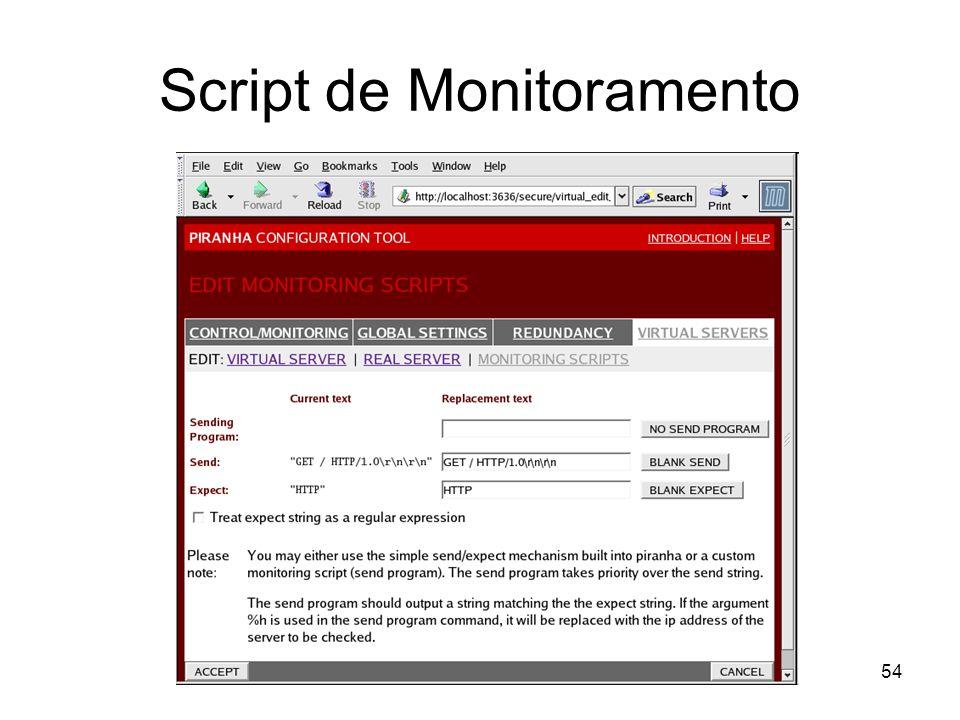 Script de Monitoramento