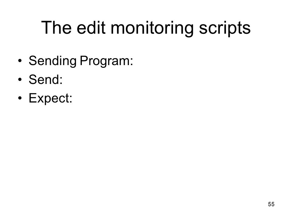 The edit monitoring scripts