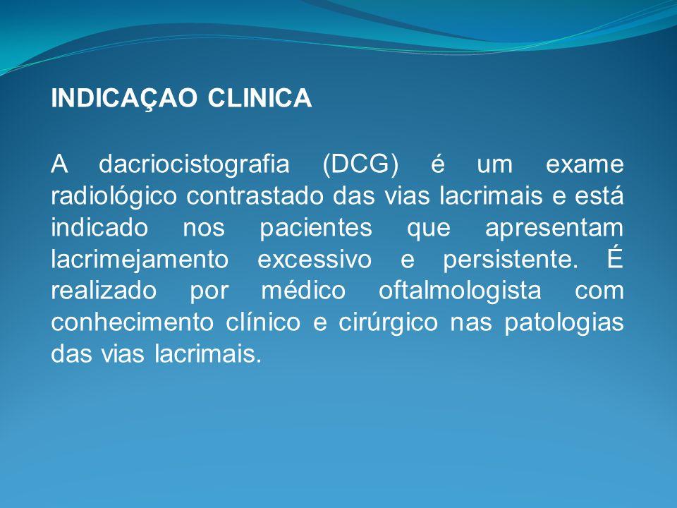 INDICAÇAO CLINICA