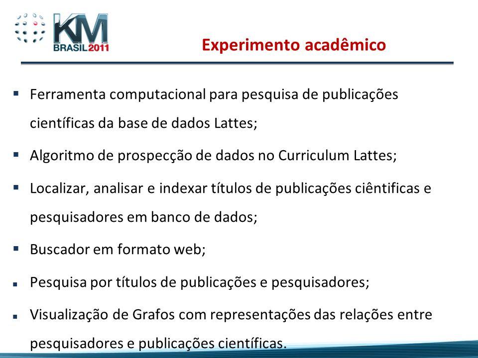 Experimento acadêmico