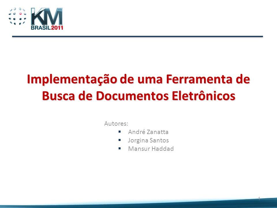 Implementação de uma Ferramenta de Busca de Documentos Eletrônicos