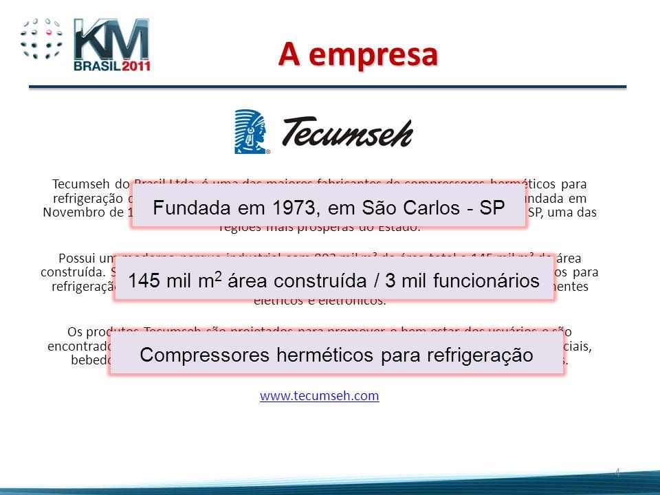 A empresa Fundada em 1973, em São Carlos - SP