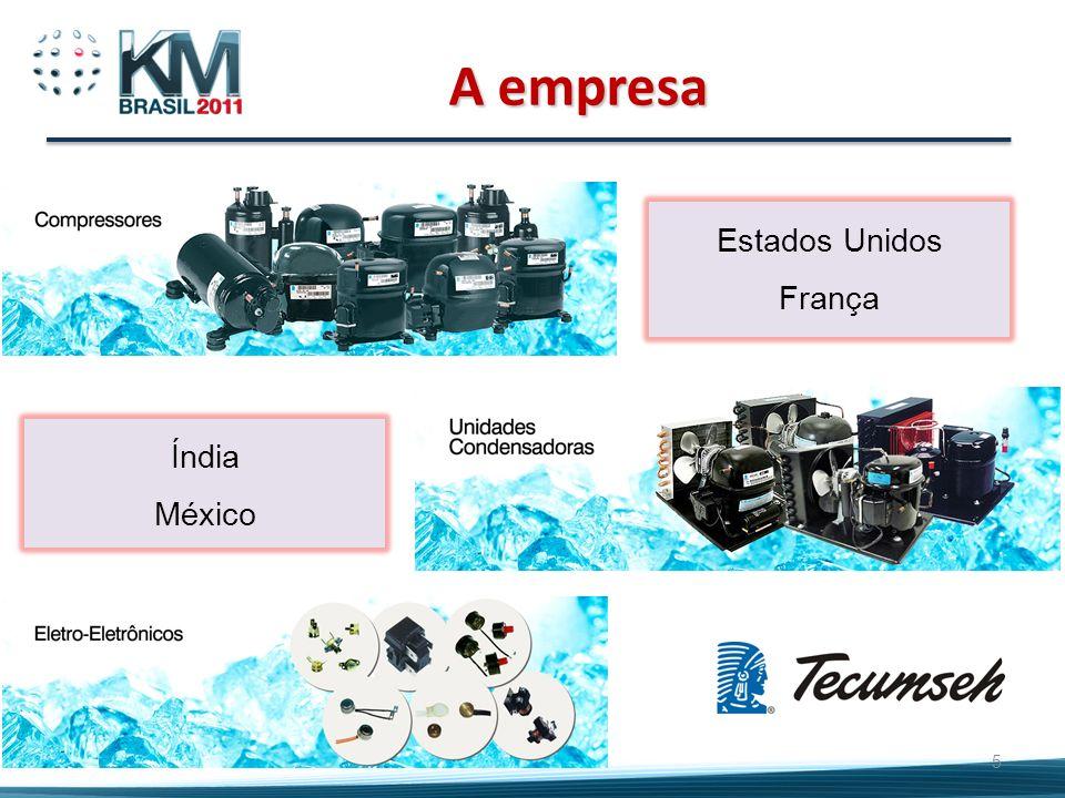 A empresa Estados Unidos França Índia México 5