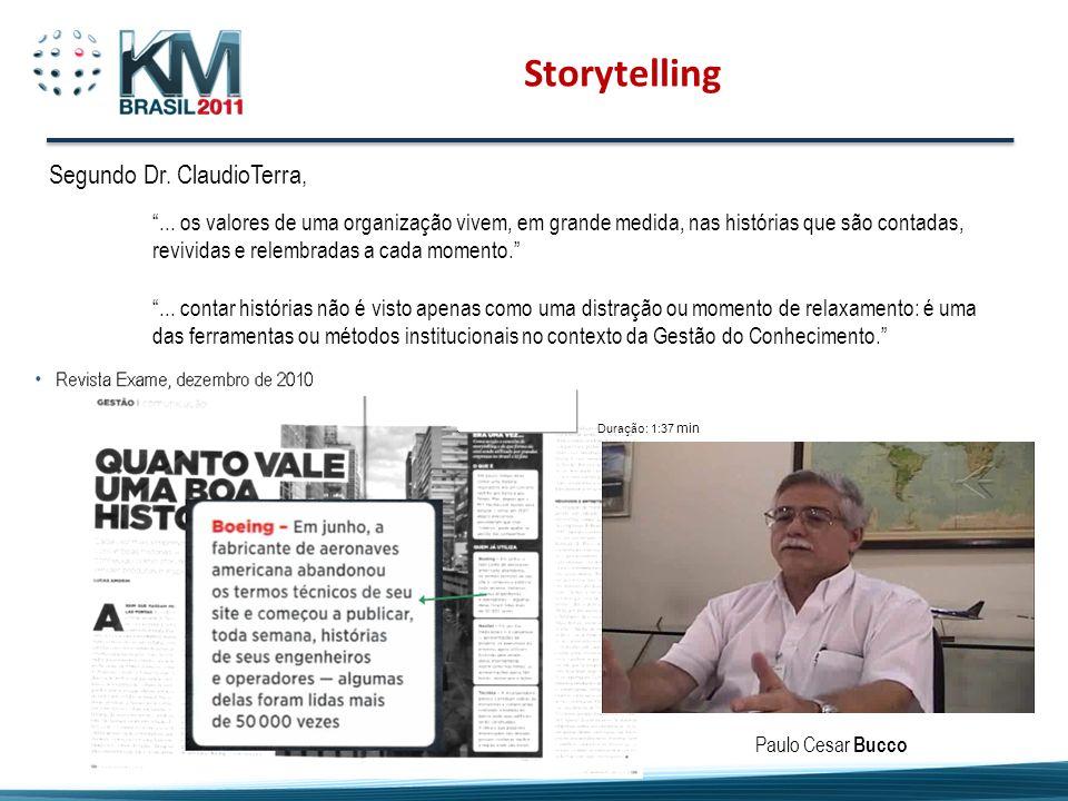 Storytelling Segundo Dr. ClaudioTerra,