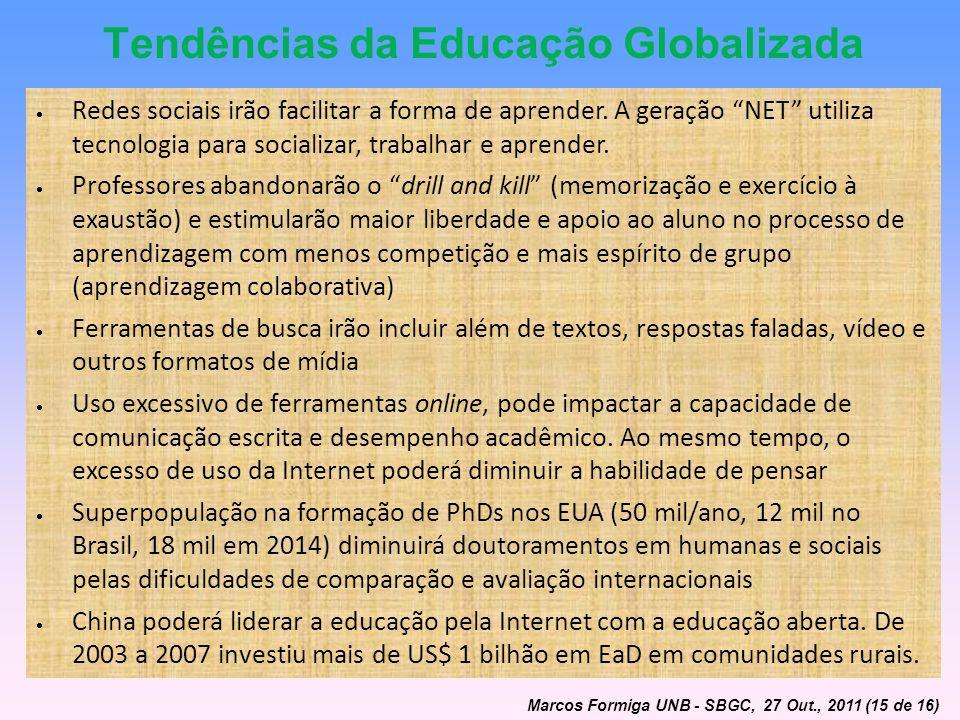 Tendências da Educação Globalizada