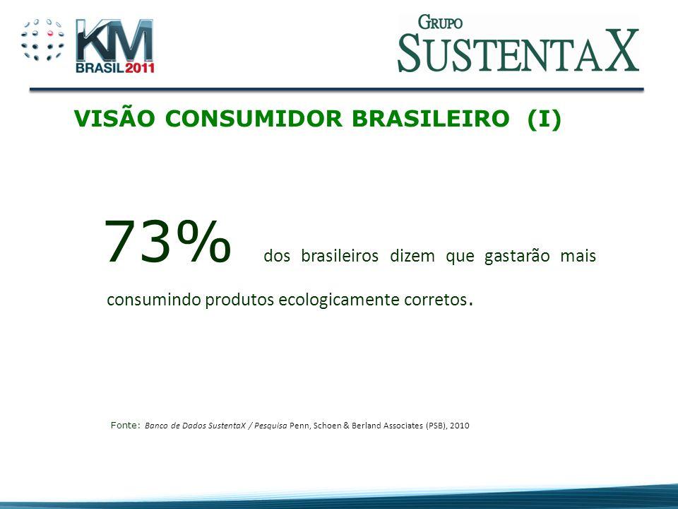 VISÃO CONSUMIDOR BRASILEIRO (I)