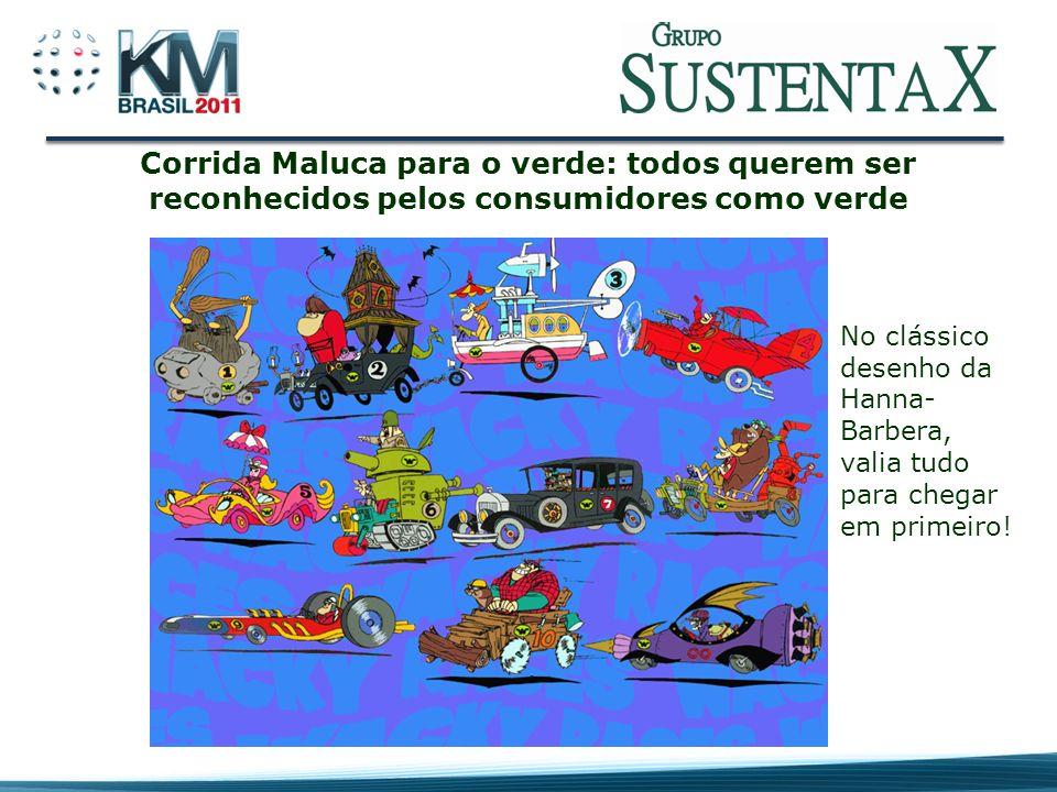 Corrida Maluca para o verde: todos querem ser reconhecidos pelos consumidores como verde