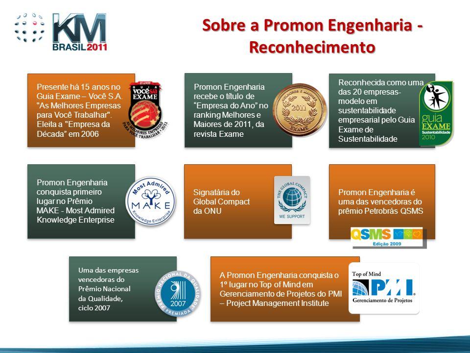 Sobre a Promon Engenharia - Reconhecimento