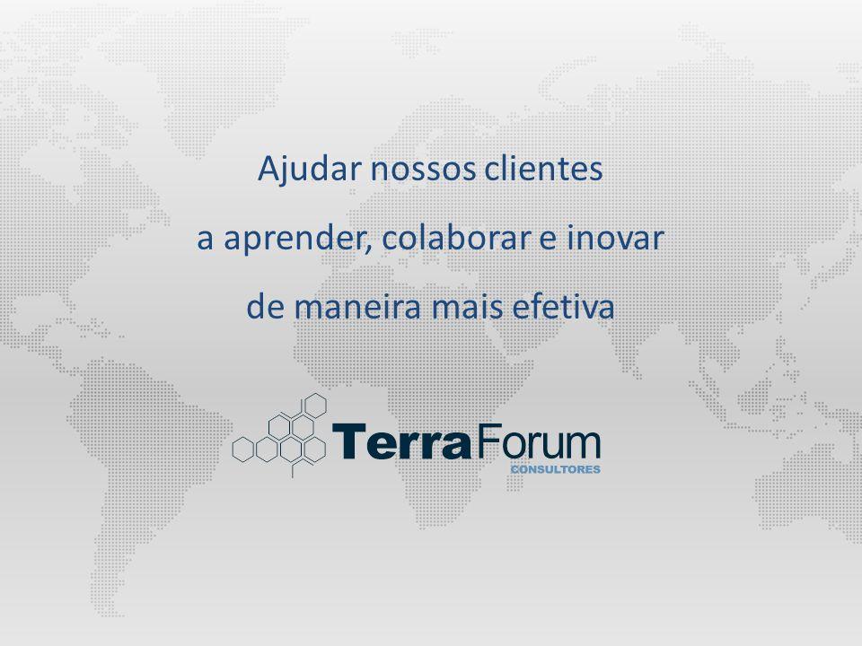 Ajudar nossos clientes a aprender, colaborar e inovar