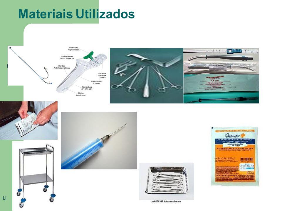 Materiais Utilizados LI